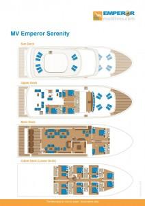 MV Emperor Serenity - FLLORPLANT