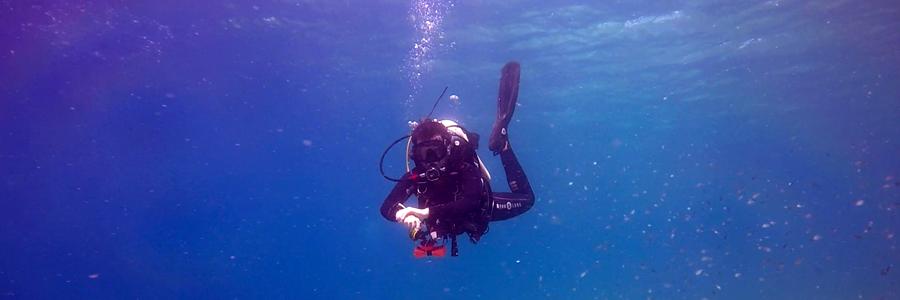 zona de inmersion buceo tecnico