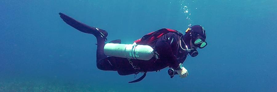 zona de inmersion buceo seguro