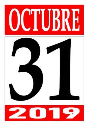 10 OCTUBRE 31